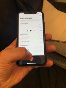Recording phone